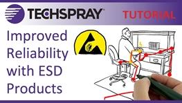Controle ESD y Mejore La Confiabilidad con Los Productos Techspray